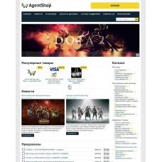 Скрипт агентского магазина AgentShop CMS 3.0